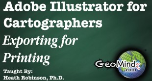 Adobe Illustrator for Cartographers 40: Title and Finishing Touches