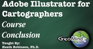 Adobe Illustrator for Cartographers 43: Course Conclusion
