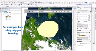 Clip / Subset Raster Using Graphic in ArcGIS