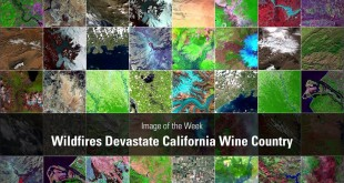 Image of the Week – Wildfires Devastate California Wine Country