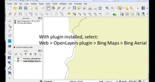 Open Google Earth or Bing as a Layer in QGIS