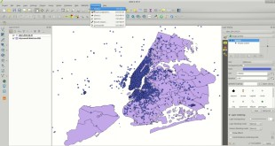 QGIS: counting points in polygons