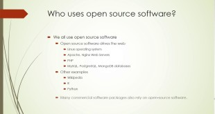 What does open source really mean?