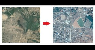 Google Earth – Visualize land encroachments using google historical imagery