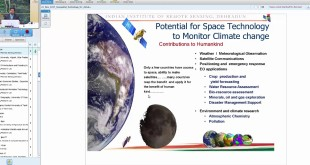 22 Nov 2017 Geospatial Technology for Climate Change Studies by Dr. Arijit Roy