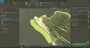 Coastal Management – Automatic Shoreline Delineation and Change Detection Analysis