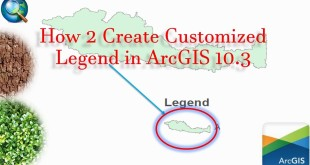 Create Custom Legend – In Map Layout with ArcGIS