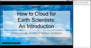 How to Cloud for Scientists Webinar