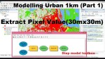 How to extract raster values in ArcGIS | Spatial Analysis Urban Plan | Extract from Landsat Image