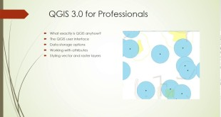 New Course: QGIS 3.0 for GIS Professionals