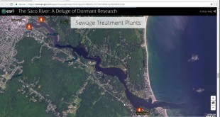 Use of Drone Technology in Ocean Research of the Saco River Estuary Supporting Student Research