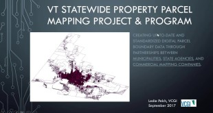 Vermont's Statewide Parcel Mapping Project: Modernizing Your Parcel Map!
