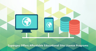 Supergeo Offers Educational Site License at a Competitive Price