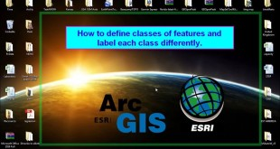 ArcGis How to define classes of features and label each class differently