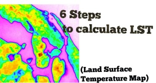 Calculate LST (Land surface Temperature map ) Easy steps – Only raster calculator