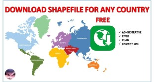 Download Shapefile For Any Country – Free