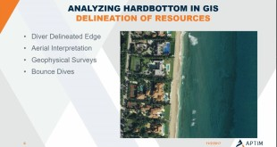 Using ArcGIS to Analyze Ephemeral Nearshore Hardbottom for Mitigation Requirements