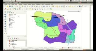 Creating a new layer _ MainRoad_ Using QGIS