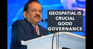 Geospatial is crucial good governance