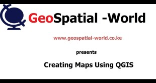 HOW TO CREATE A MAP IN QGIS
