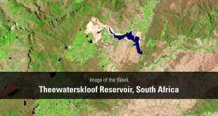 Image of the Week – Theewaterskloof Reservoir, South Africa