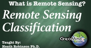 What is Remote Sensing? (9/9) – Remote Sensing Classification
